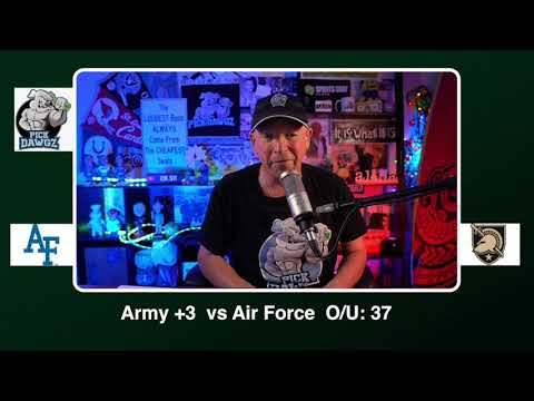 Army vs Air Force 12/19/20 Free College Football Picks and Predictions CFB Tips