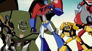 видео Смотреть мультфильм Трансформеры: Роботы под прикрытием / Трансформеры: Скрытые роботы онлайн в хорошем качестве 720p