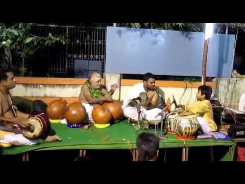 Grammy Award Winner. Vidwan Vikku Vinayakram and Hemant Joshi  ( 8years)- Jugalbandhi
