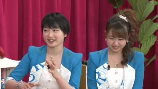 高木紗友希, 宮本佳林, 植村あかり MC : 松村沙友理, 中田花奈.