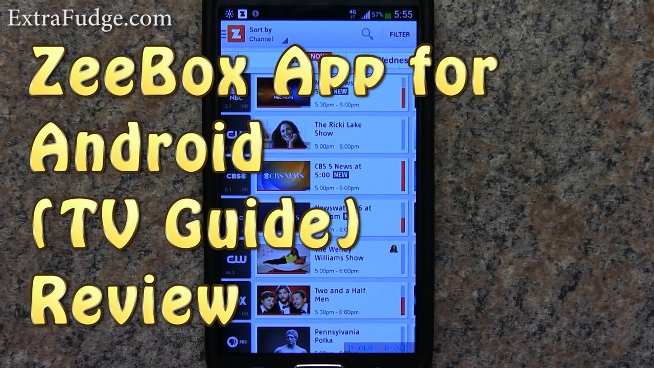 Phone Tv Guide App For Android Phone zeebox app for android tv guide review youtube review