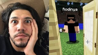 EVE HIRSIZ MI GİRDİ MINECRAFT HARDCORE 4