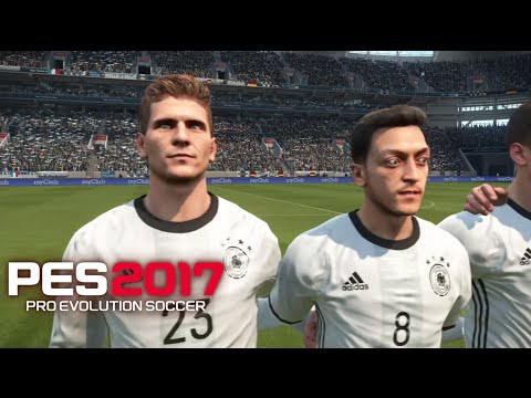 PES 17 Gameplay DEMO -Pro Evolution 2017 Germany vs France (PS4)