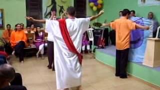 APRESENTAÇÃO DA COREOGRAFIA DA MUSICA 'DONO DO AMOR' DE ELAINE DE JESUS