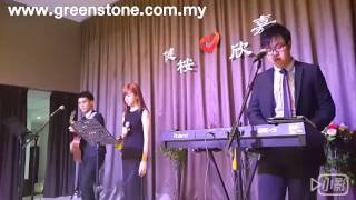 Greenstone music wedding live band malaysia