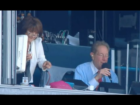 Foul Ball Lands in Yankees Radio Booth with John & Suzyn