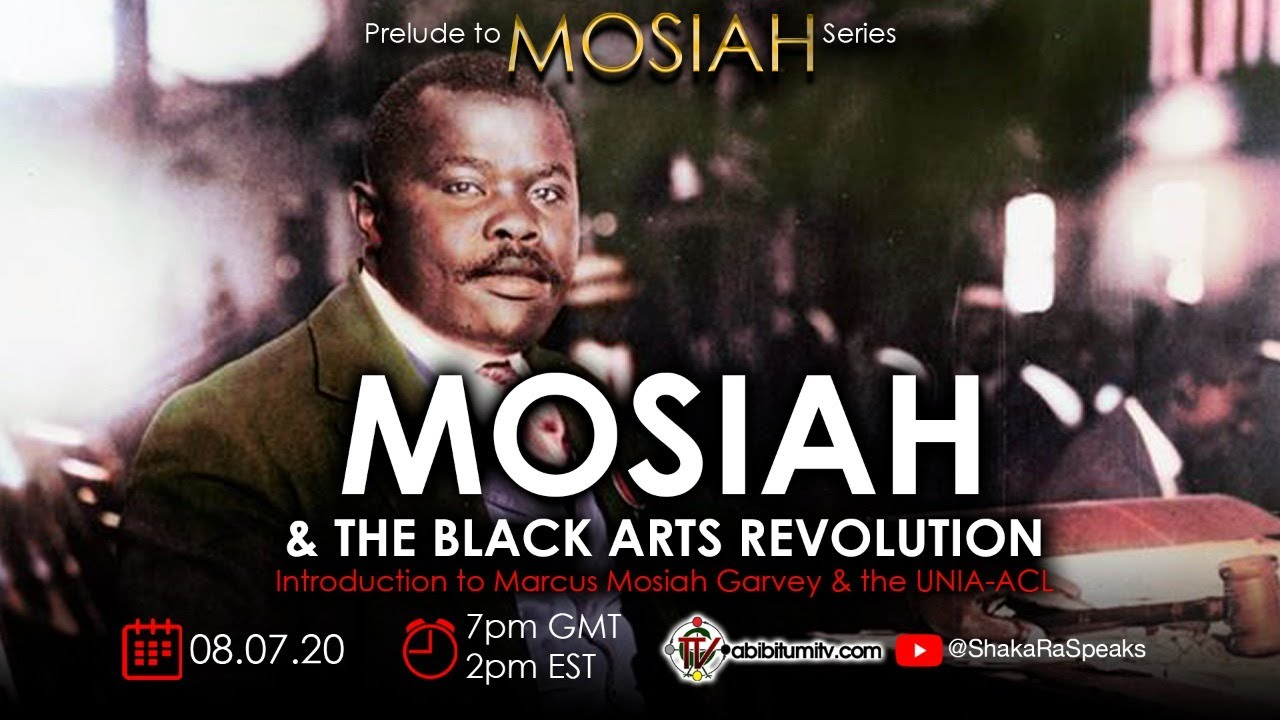 MOSIAH & THE BLACK ARTS REVOLUTION