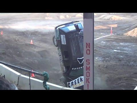 Tuff Truck crazy action @ Clark County Fair