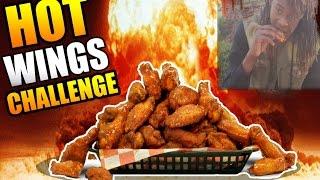 Buffalo Wild Wings Blazin' Hot Wing Challenge! (Fail)