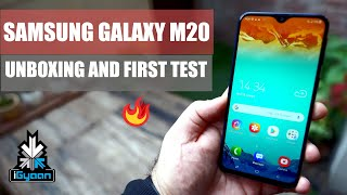 Samsung Galaxy M20 Unboxing Performance Gaming And Camera First Look