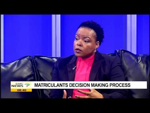 Matriculants decision making process