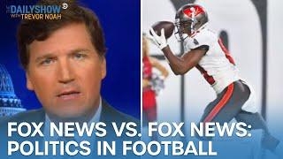 "Fox News on Kneeling vs. ""F**k Joe Biden"" Chants | The Daily Show"
