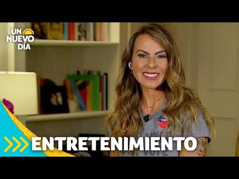 Elecciones 2020: Kate del Castillo llora al hablar de los inmigrantes | Un Nuevo Día | Telemundo