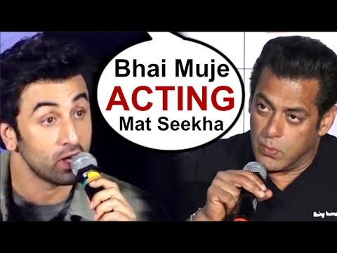 Ranbir Kapoor ANGRY Reply To Salman Khan For Insulting Sanju Movie Trailer