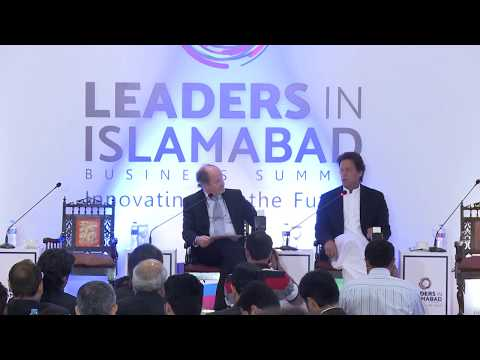 Conversation with Imran Khan by John Andrews @ LEADERS IN ISLAMABAD