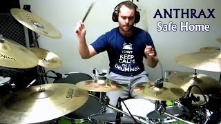 Daniel Blume - ANTHRAX - Safe Home -- Drum Cover