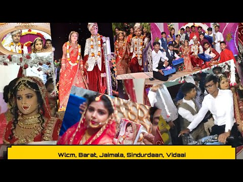 marriage-party-part-2||-wlcm,-barat,-jaimala,-sindurdaan,-vidaai-||-g/n-(part-1-in-description👇)