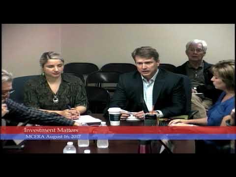 Mendocino County Employees Retirement Association 8-16-2017