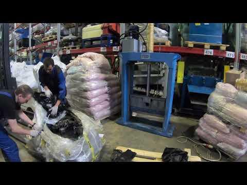 Гильотина ГГР-800 на резине - Видео 2