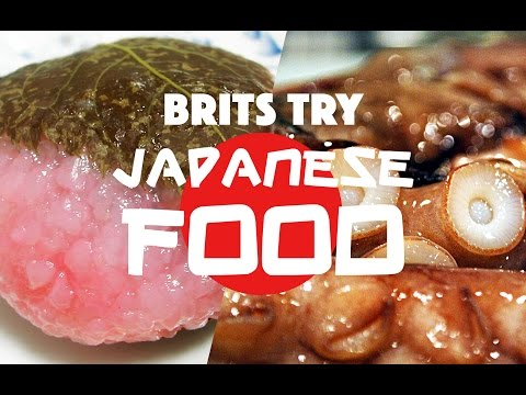 British Guys Try Japanese Food