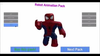ROBLOX Animation Packs on Robloxian 2.0 + ROBLOX Boy