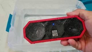 Altec Lansing Jacket H20 3 WATERPROOF BLUETOOTH SPEAKER  Review