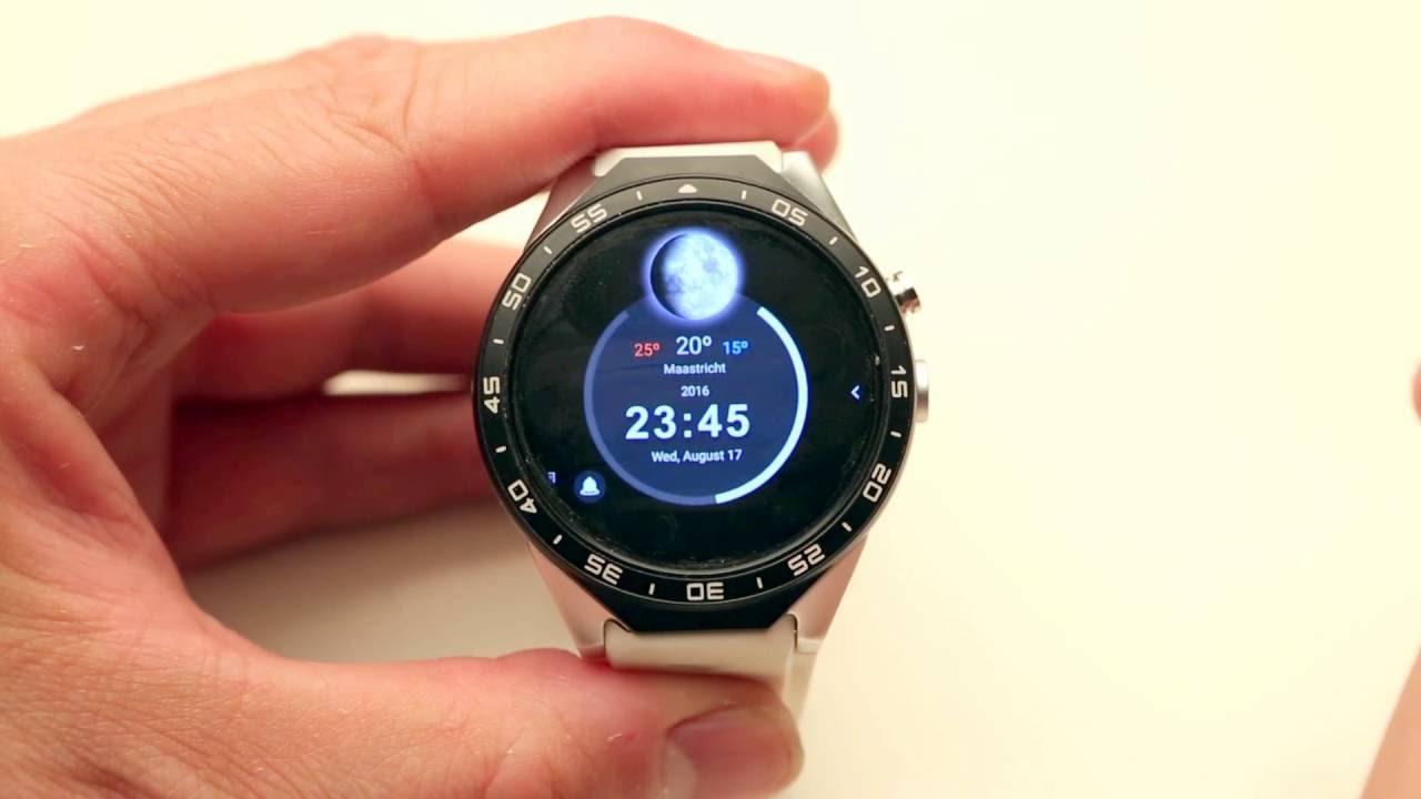 Kingwear KW88 Smartwatch - Alternative launcher and Clockfaces Preview