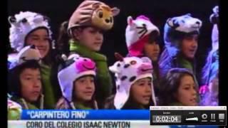 Cancion Carpintero Fino - Coro del Colegio Isaac Newton - 2014