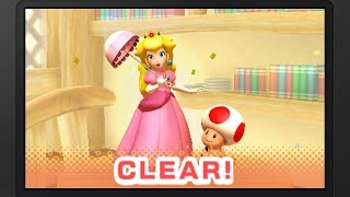 Picross 3D Round 2 - Peach & Toad Playthrough [3DS]