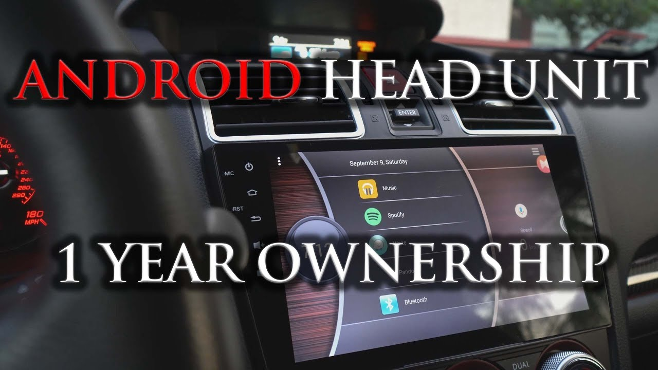 Android Head Unit a year later - Is it Still Worth it? 2017 (4k)