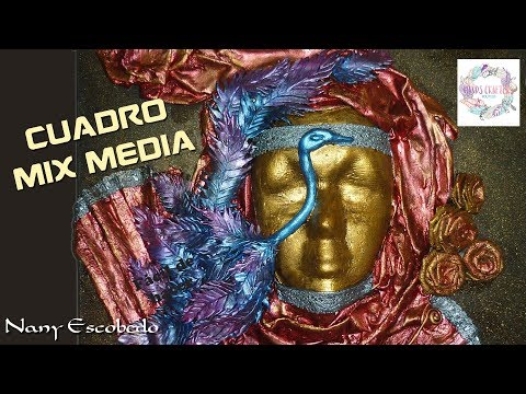CUADRO MIX MEDIA (HANDS CRAFTERS)