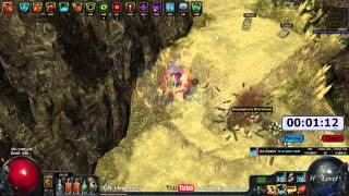 Path of Exile Act 4: Gorge Speed Run with Hypothermic Ice Crash Marauder Final Test