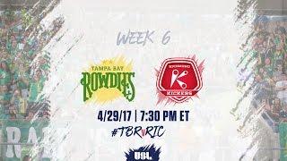 USL LIVE - Tampa Bay Rowdies vs Richmond Kickers 4/29/17
