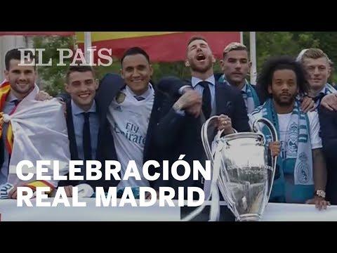 REAL MADRID | Celebración de la 13 Champions League | Deportes