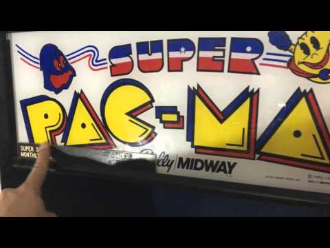 NAMCO Bally/Midway Super Pac-Man Pick-Up (2016-03-24)