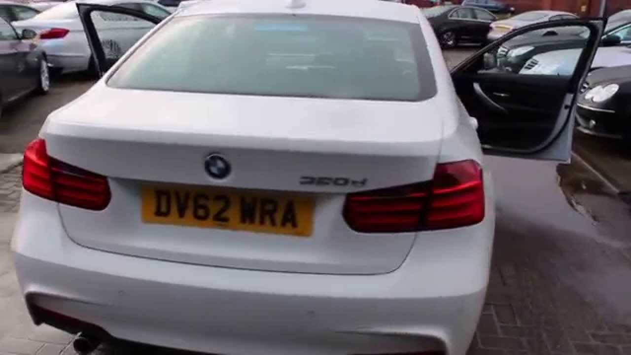 Bmw 320d M Sport Finished In Alpine White At Rix Motor
