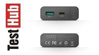 BlitzWolf BW-PF2 10000mAh QC3.0 USB-C Power Bank test
