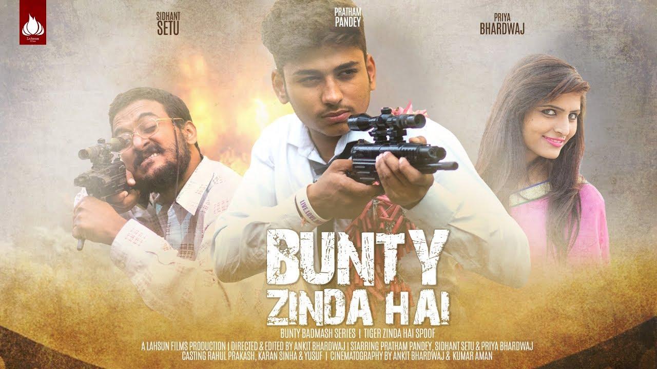 tiger zinda hai official trailer spoof bunty zinda hai bunty badmash episode 3