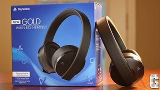 The NEW 2018 Sony Playstation Gold Wireless Headset REVIEW