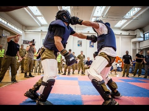The IDF's Best of the Best: Krav Maga Competition