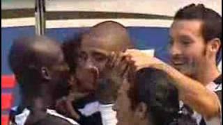Del Piero rovesciata Trezeguet Goal vs Milan