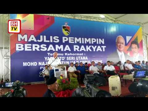 Najib hadir program di Port Dickson