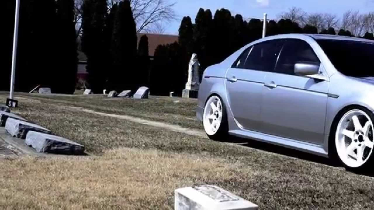 When Is A Car Totaled >> Acura TL Stanced - YouTube