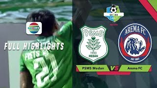 PSMS Medan (2) vs Arema FC (0) - Full Highlight | Go-Jek Liga 1 besama Bukalapak