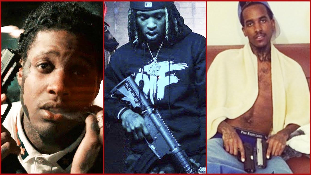 RAPPERS THAT CAUGHT A GUN CHARGE (King Von, Lil Durk, Lil Reese)