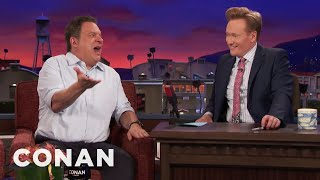 Thanks To Conan, Jeff Garlin Is Swimming In Free Pot  - CONAN on TBS