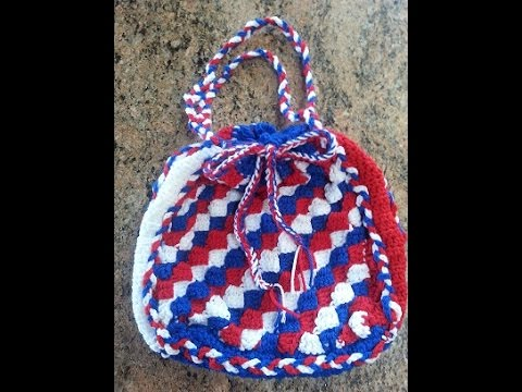 5a72e10ccfff Crochet Bag for gifts and/or everyday use learn to C2C DIY Tutorial ...