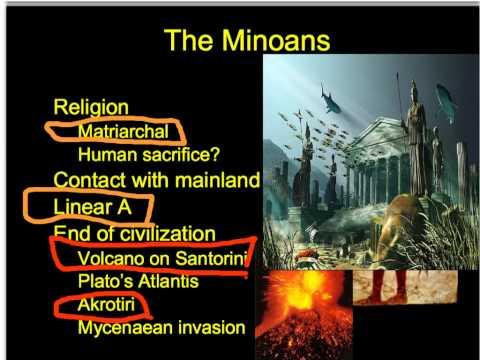 3.1 Minoans and Mycenaeans