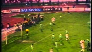 1989 October 18 Red Star Belgrade Yugoslavia 4 Zalgiris Vilnius USSR 1 UEFA Cup