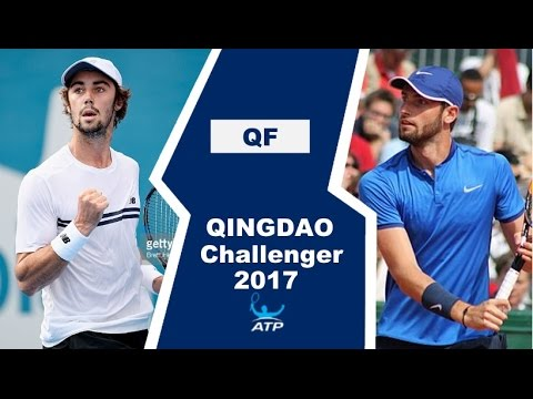 Jordan Thompson vs Quentin Halys Highlights QINGDAO 2017